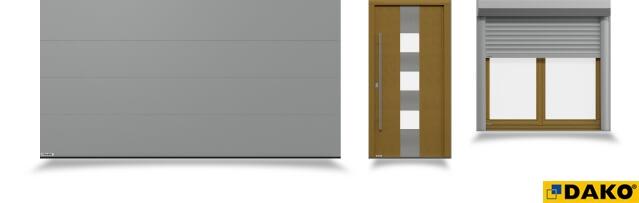 DAKO BRZESKO | ARTMAR - OKNA DRZWI ROLETY BRAMY, okna pvc, drzwi, bramy garażowe,